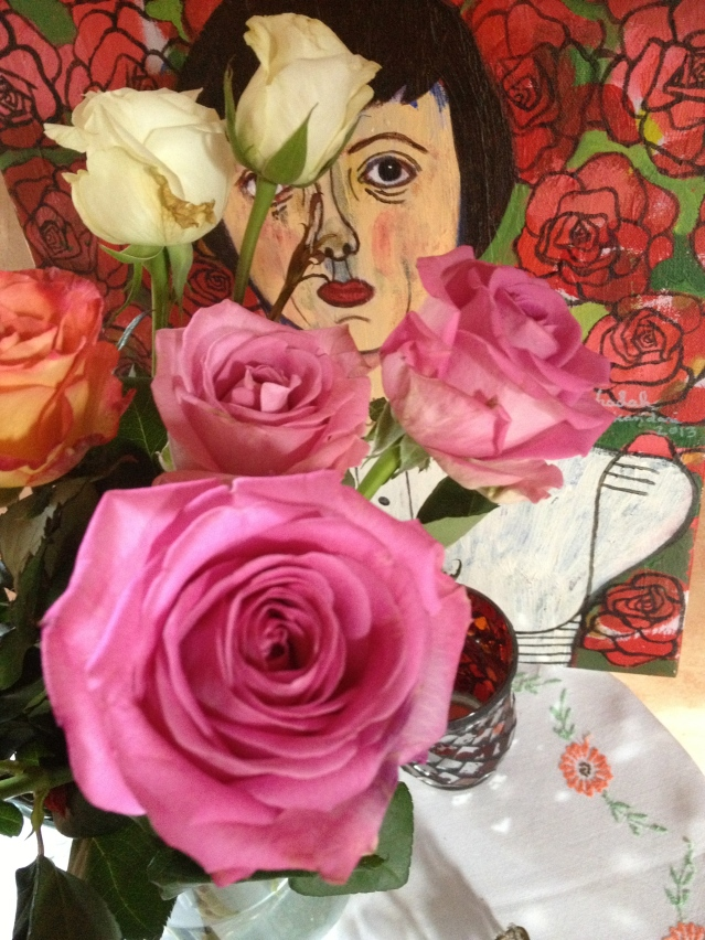 finally the roses are united: rose & the roses at rose cottage