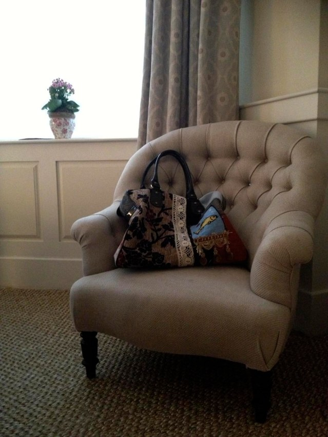 chair and my mary poppins bag