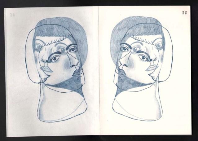 heidi & jacqueline } in triplicate