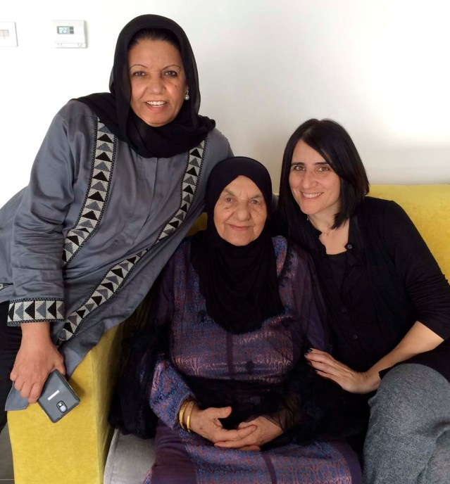 three generations of mommies: my mom, granny and me