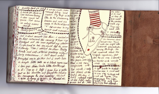 diary april 6 and 7 2014