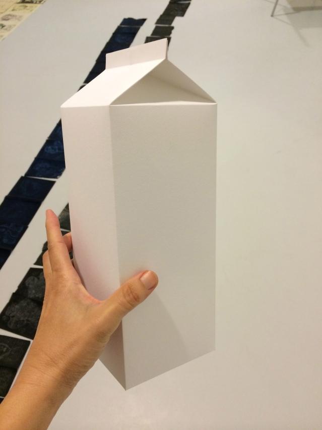 i made a milk box