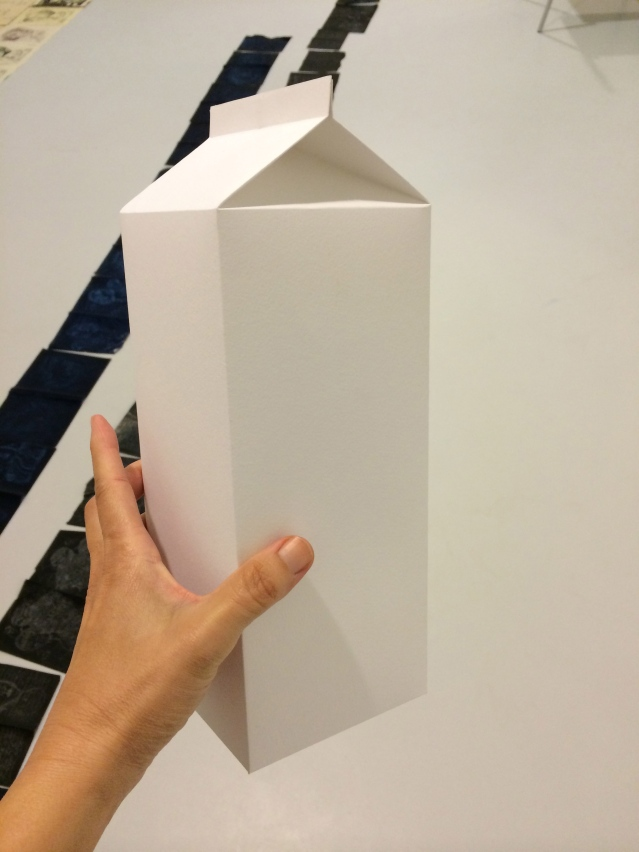 i made a milk box