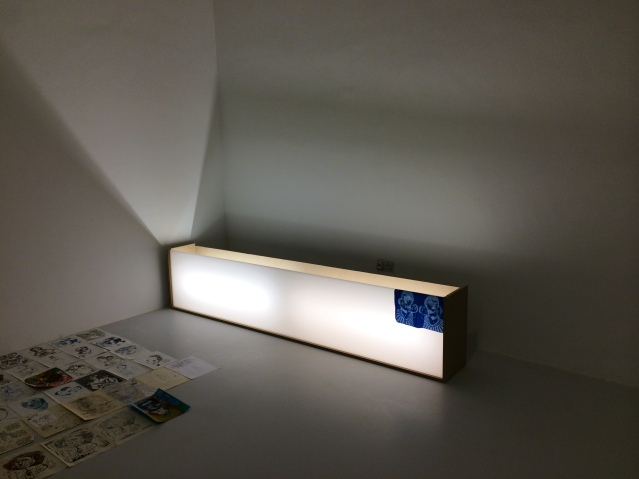 the light box is here!