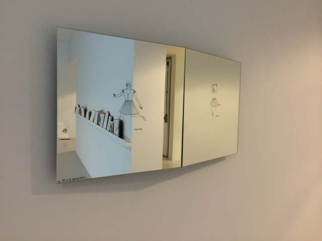 and the end result. if utilized correctly, this mirror will yield an infinite supply of instagrams! #gamathaf
