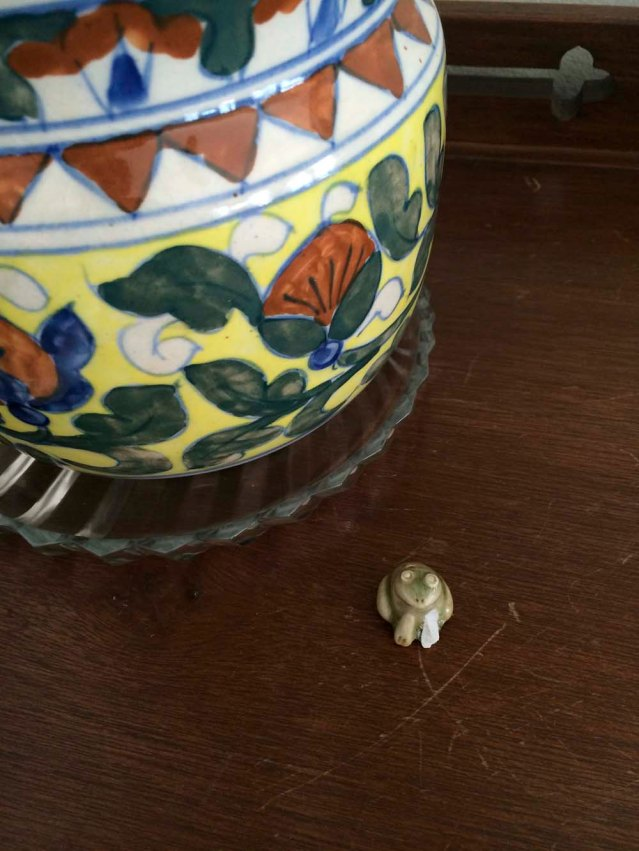 little incense frog