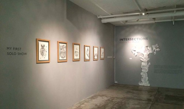 zahra al-mahdi's 'intersections'. i've been looking forward to this because zahra has this morbid mind that appeals to my love for the macabre