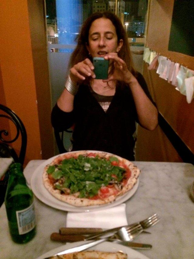 we shamelessly take photos of our dinner