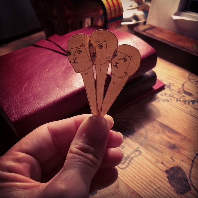 three pinheads