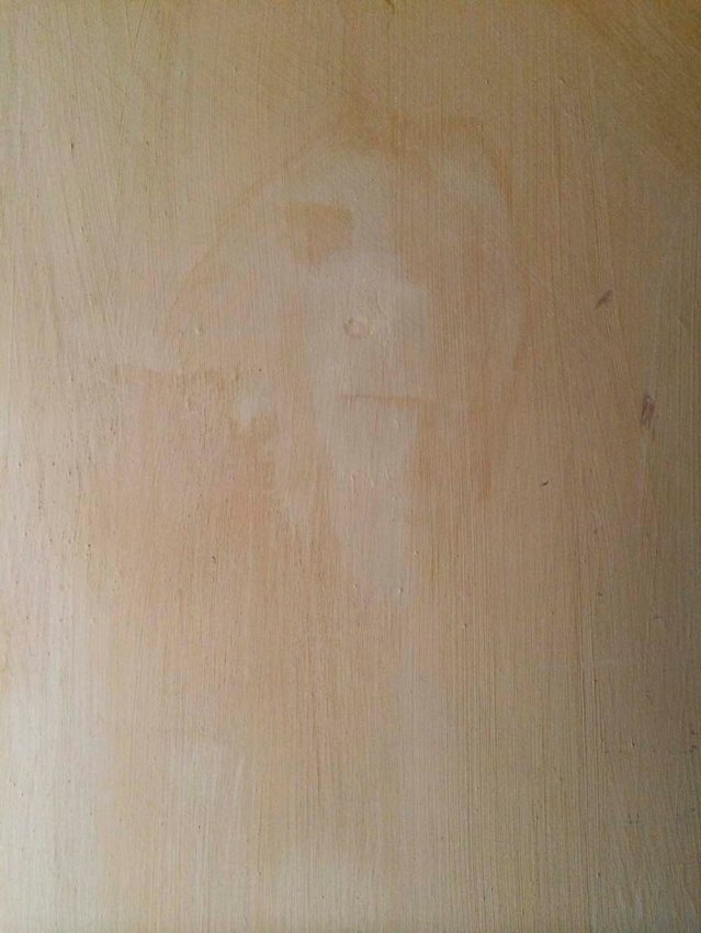 the day of my departure i found one last monkey on the bedroom wall. needless to say, this freaked me out