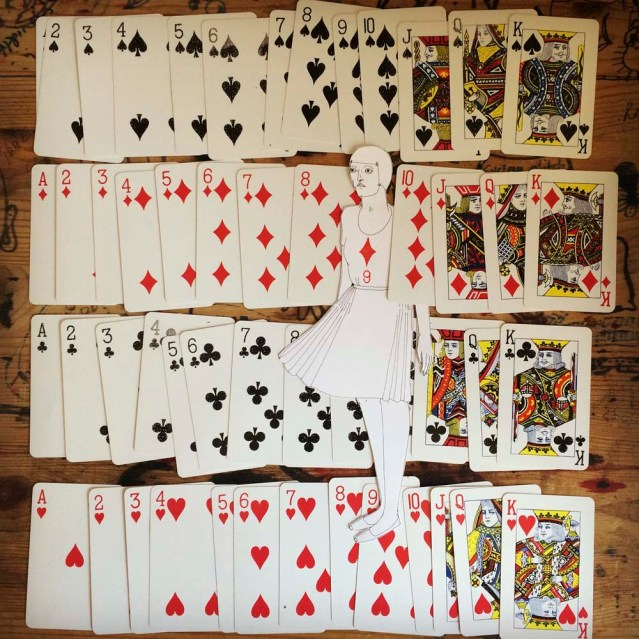 she stands in for the nine of diamonds