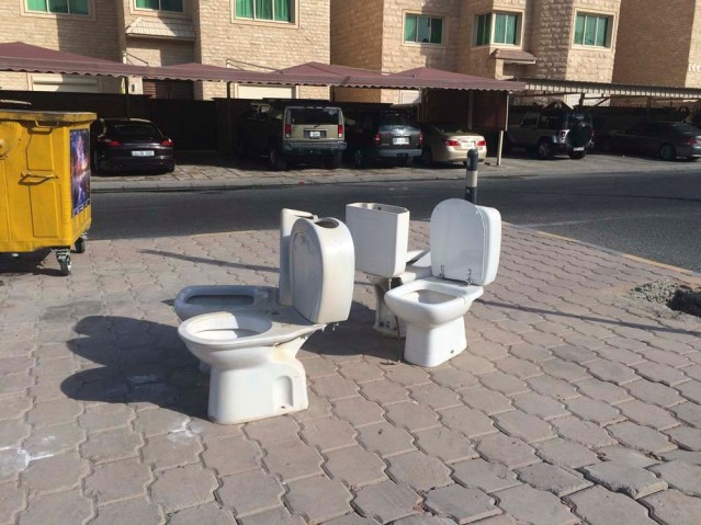 my titular toilets