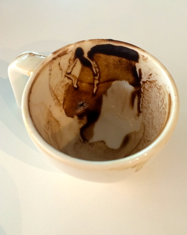 when the coffee disappears a future appears