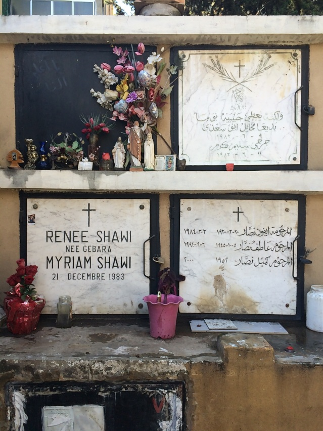 we found a cemetery in mar mikhael