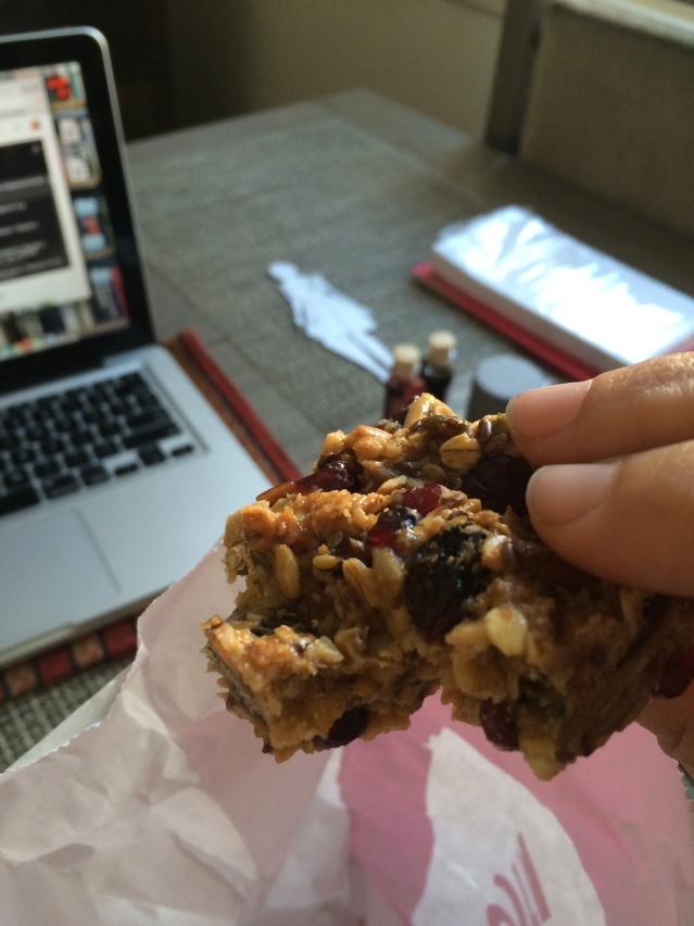 i ate the last granola bar