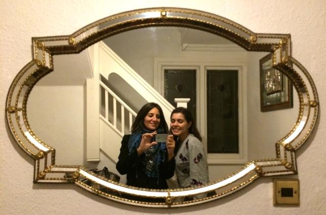 naz and me