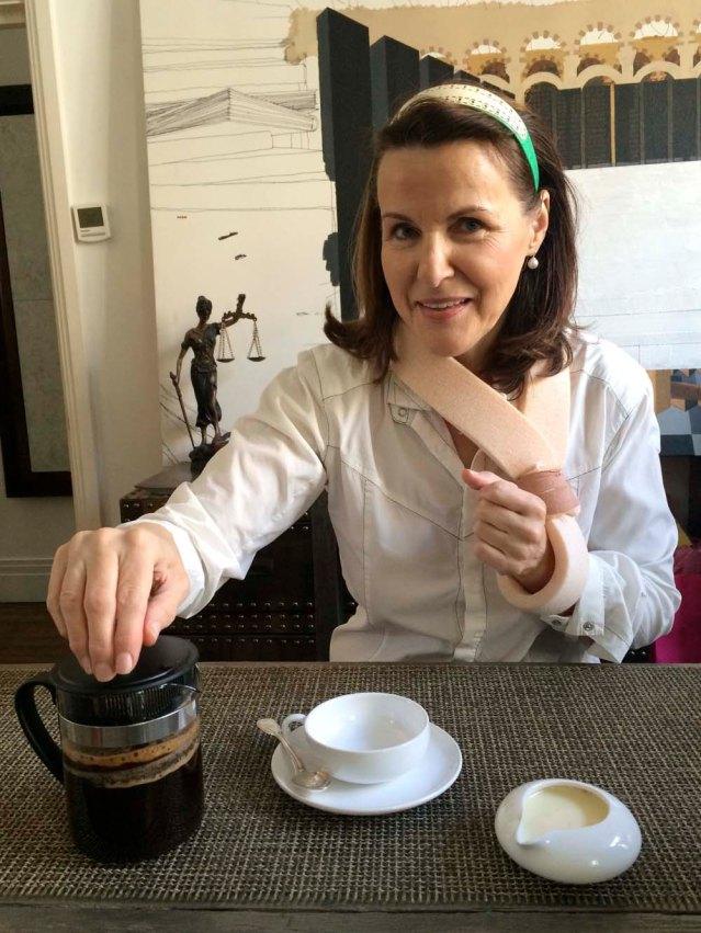 november 18 } a coffee with ludmilla, the domestic goddess