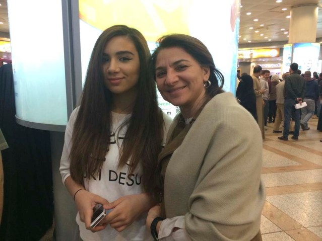 zainab and her aunty faten