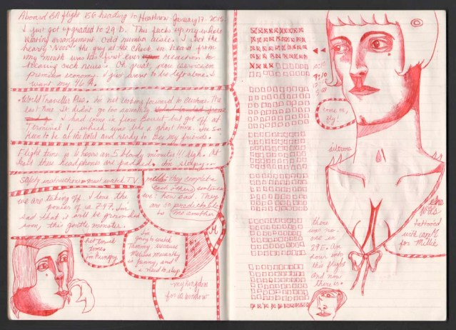 on the plane page 1