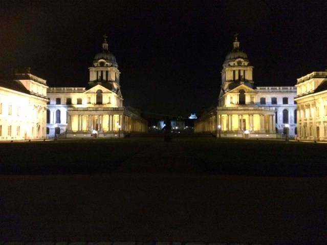 the university of greenwich where we are so close to the most accurate time on earth. sigh