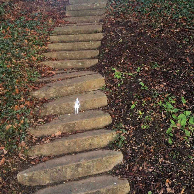 halfway up or halfway down?