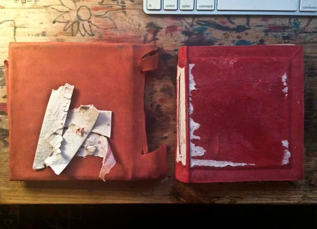 bye bye hideous cover. i have since cleaned up the existing soft cover. the book is more proportioned now