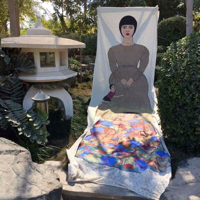 in the japanese garden. photo by yasmine alkandari