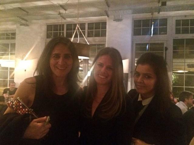 me, jelena and nazira