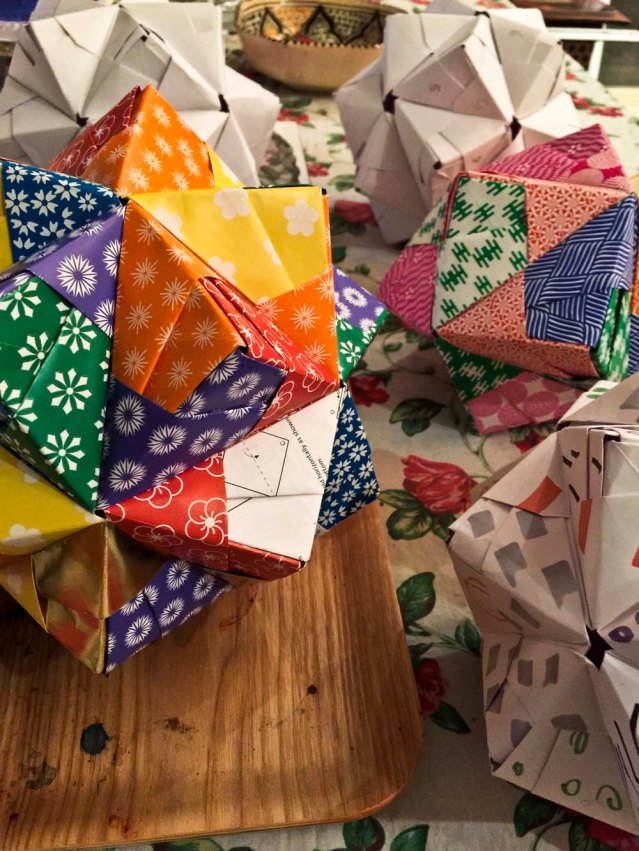 a flurry of polyhedra. i want to make more, more, MORE