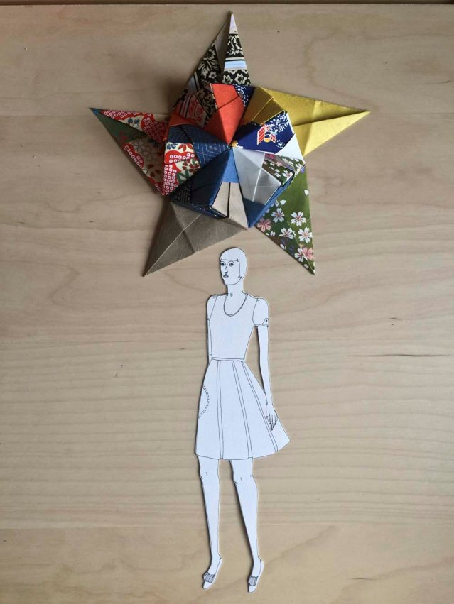 i manage to get some work done on anna's polyhedron. for now this is eve and her lucky star