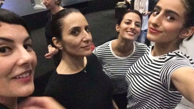 mai, me, fatima and dalal