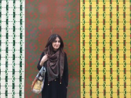 Later on we spot this funky wall. We are near Edgware road, or as I call it 'Little Kuwait'.