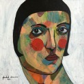 Square Portrait #3, 2016, acrylic on canvas, 30 x 30 cm