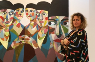 Reham Alsamerai matches my painting.