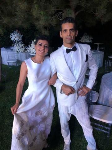 The architects: Amina and Tareq Sr.